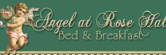The Angel at Rose Hall Bed and Breakfast in Eureka Springs, Arkansas, Ark, AR